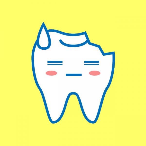 歯がとがって舌が引っかかる?