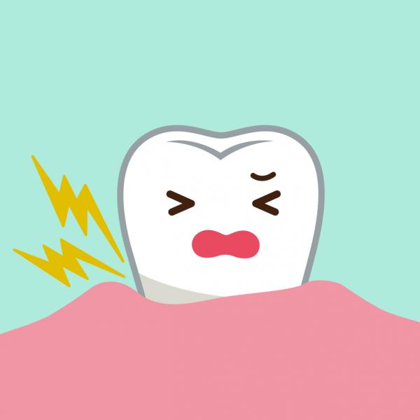 歯がしみる?